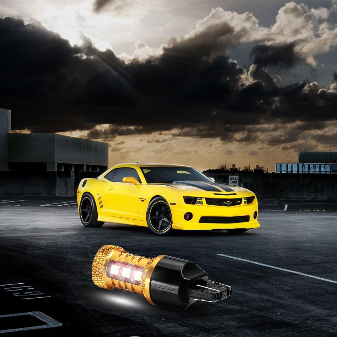 7443 Plug 3030 15smd Car Led Light Bulb In 2020 Car Led Lights