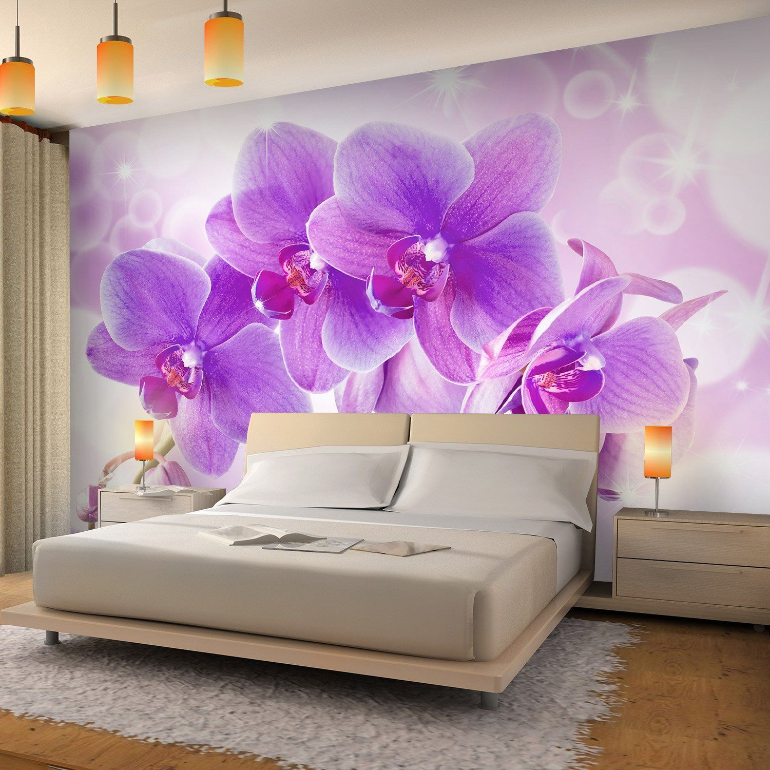 Vlies Fototapete Orchidee 352x250 Cm 9012011b Runa Tapete Amazon De Küche Haushalt Wallpaper Living Room 3d Wallpaper Living Room Photo Mural Wall
