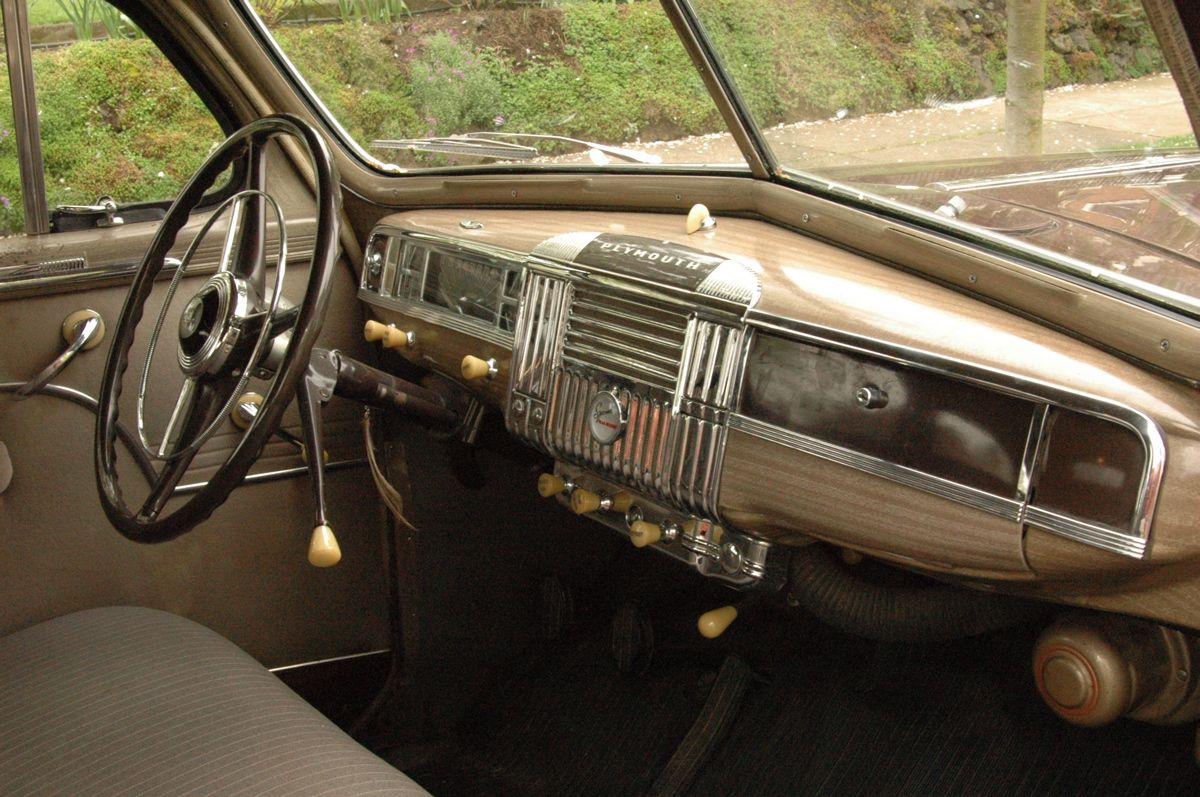 1948 Plymouth Sedan 1948 Plymouth Special Deluxe Sedan Plymouth