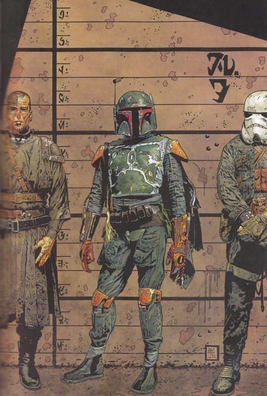 Star Wars: Boba Fett: Salvage, Vol. 1 # ½ Wizard Exclusive by by Tim Bradstreet