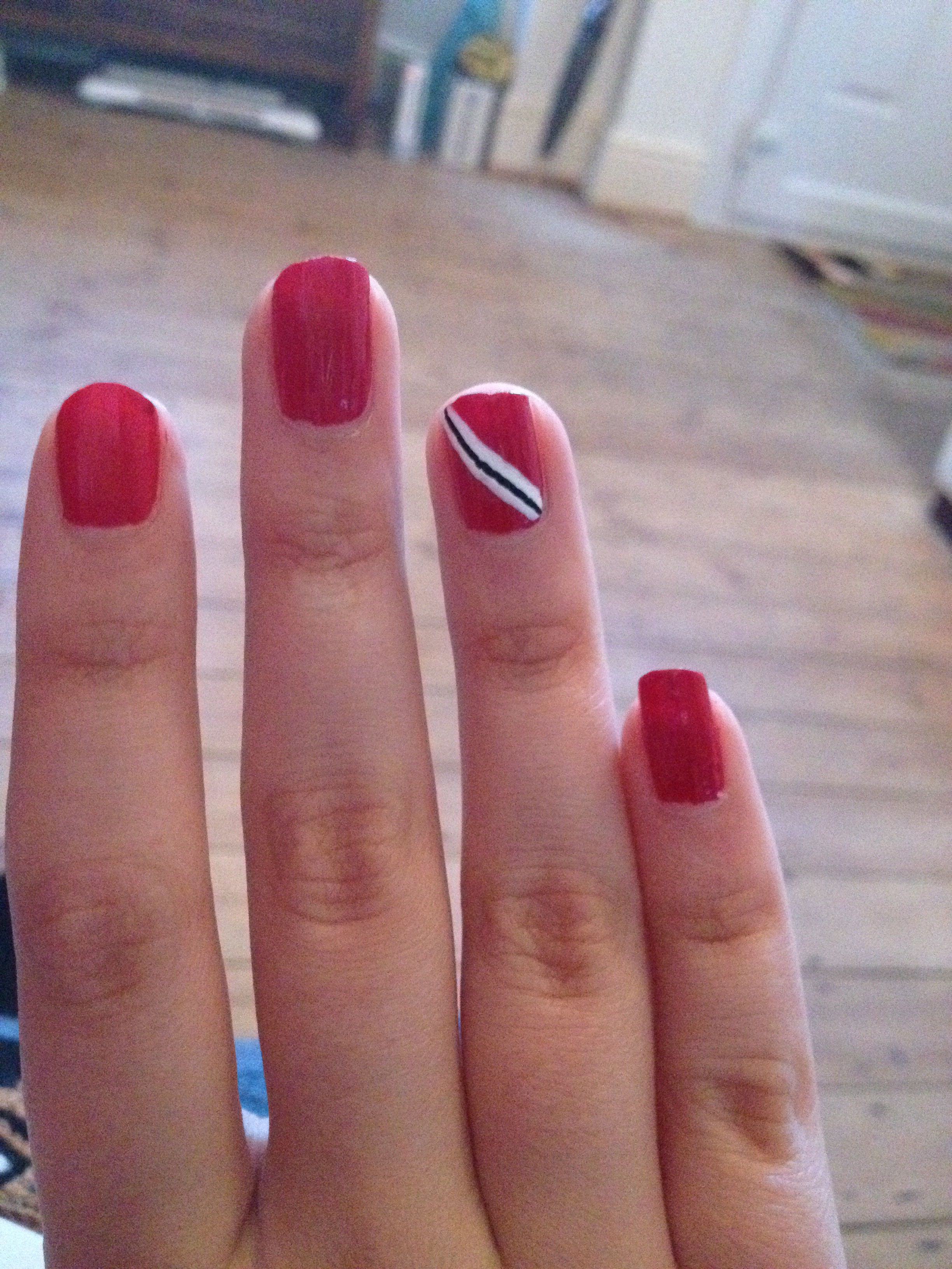 Trinidad Tobago nails | Lovely Nail Designs | Pinterest