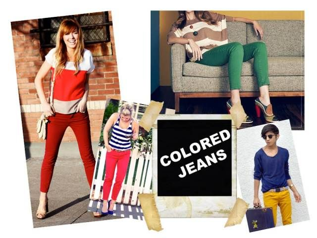 Fall Jean Guide: Colored Jeans http://bit.ly/q5a57P