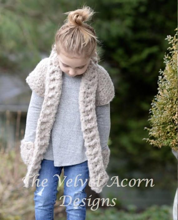 Crochet PATTERN-The Tyla Sweater 2/3 4/6 7/9 by Thevelvetacorn ...