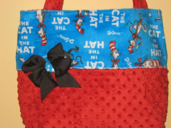 Custom Dr Seuss Diaper Bag By Cutepolkadots On Etsy 38 00