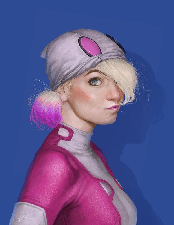 Gwenpool by Rahzzah.deviantart.com on @DeviantArt
