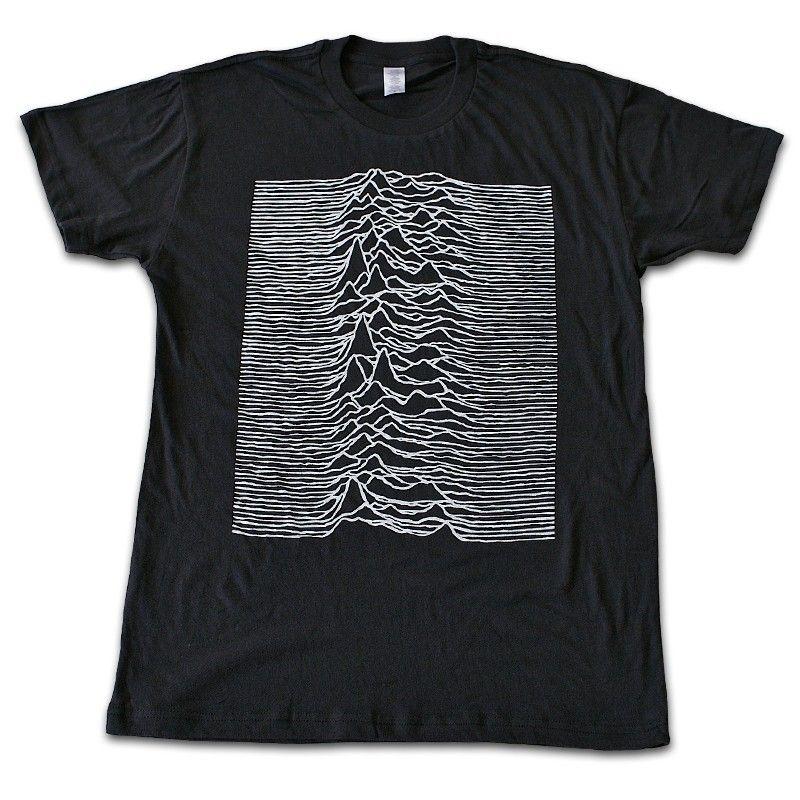 Rob band tshirt option - JOY DIVISION unknown pleasures T-shirt