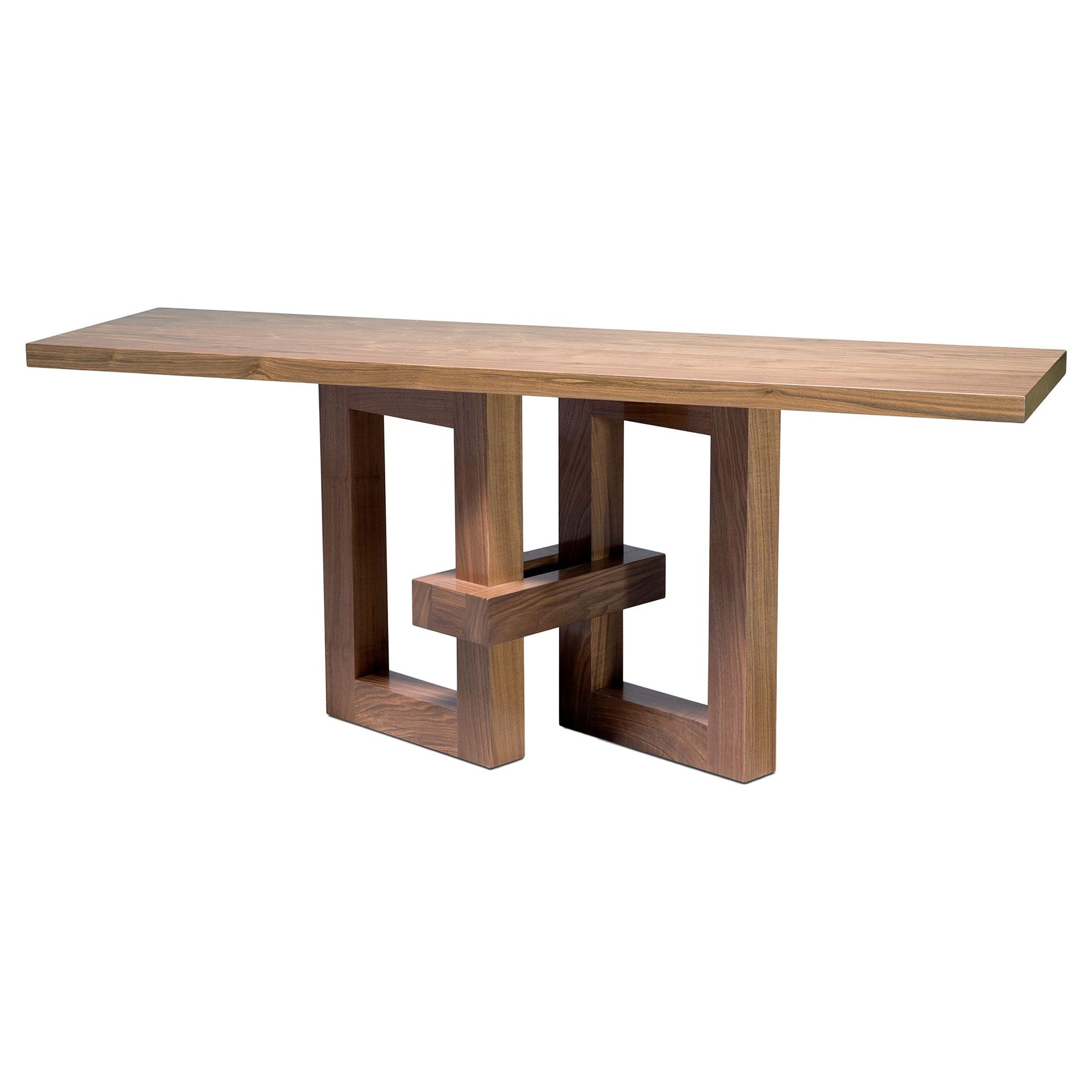 Buy Link Console Table By Knowlton Brothers Made To Order Designer Furniture Contemporary Wood Dining Table Contemporary Console Table Contemporary Console