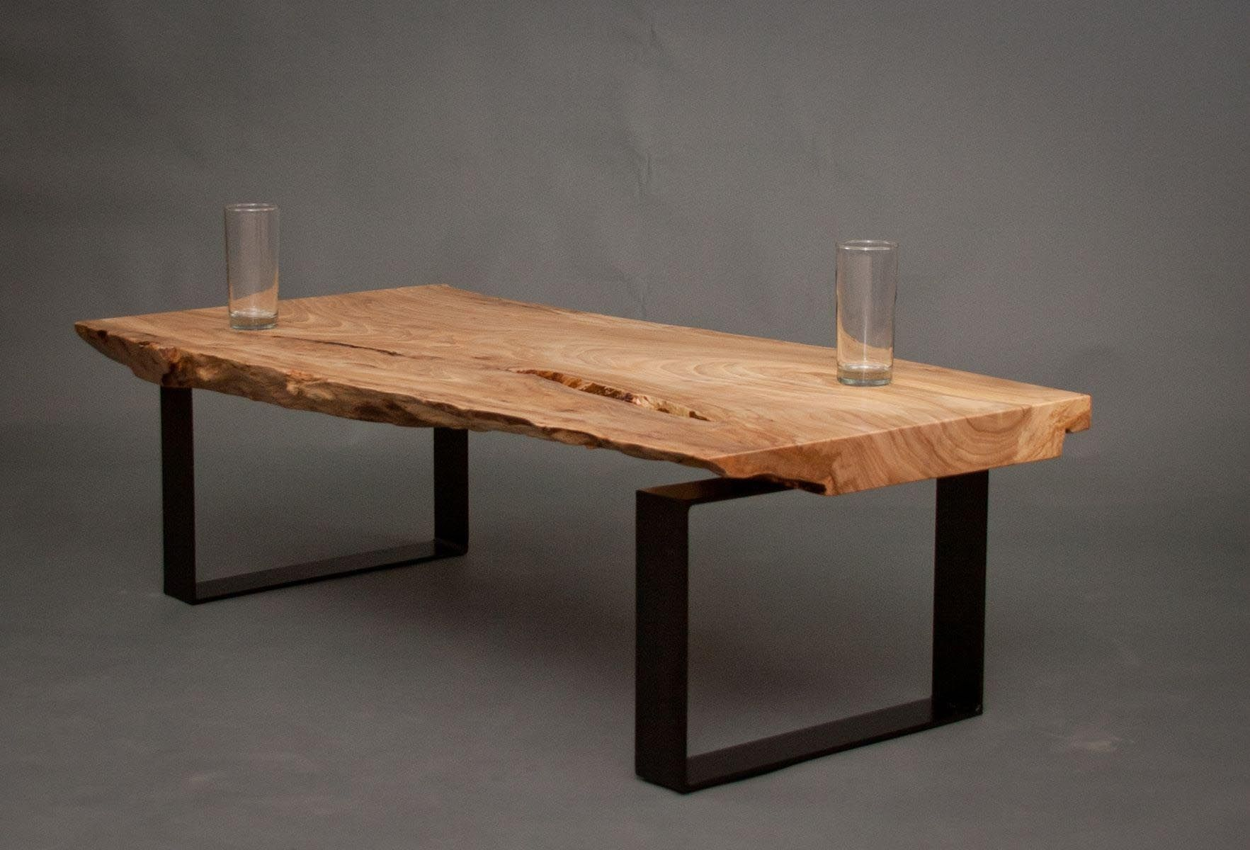 Wood Slab Coffee Table Reclaimed