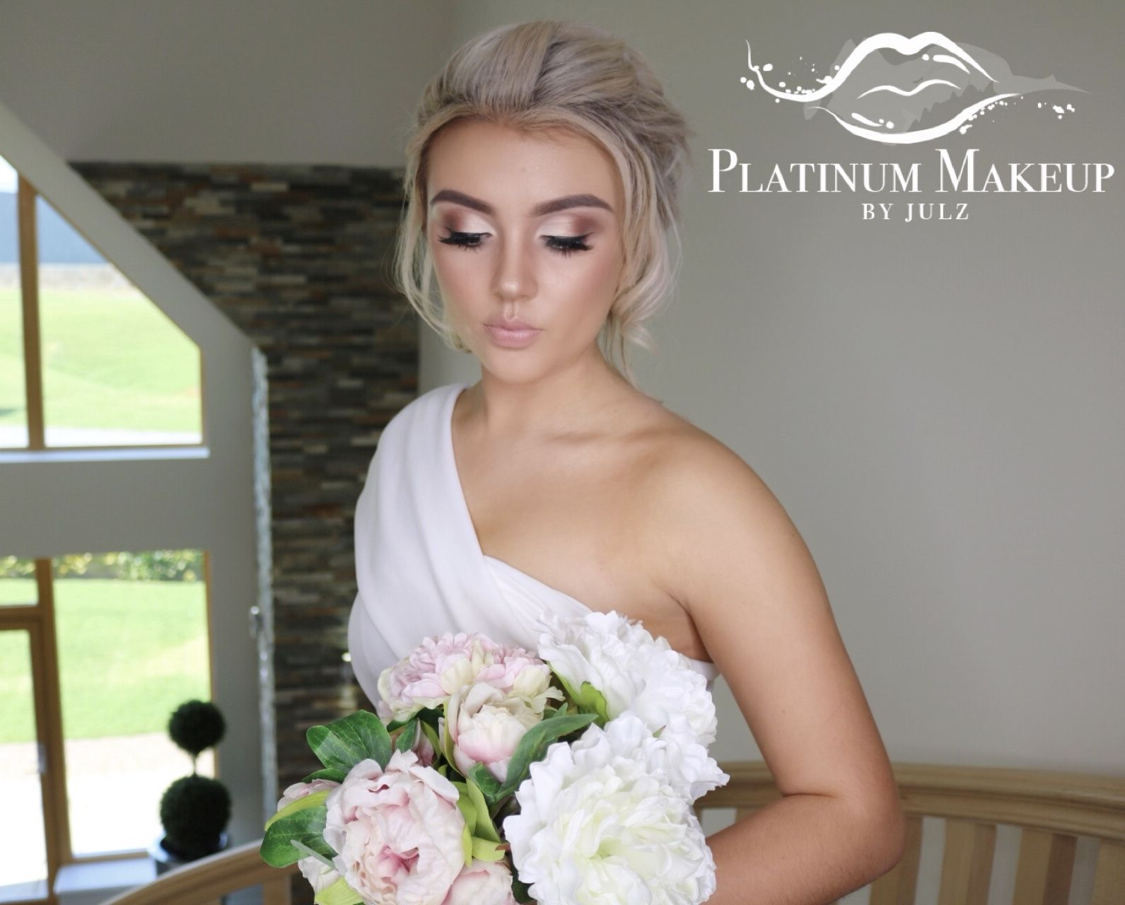 Hair by gemma taylor aberdeenshire bridal makeup look soft glam