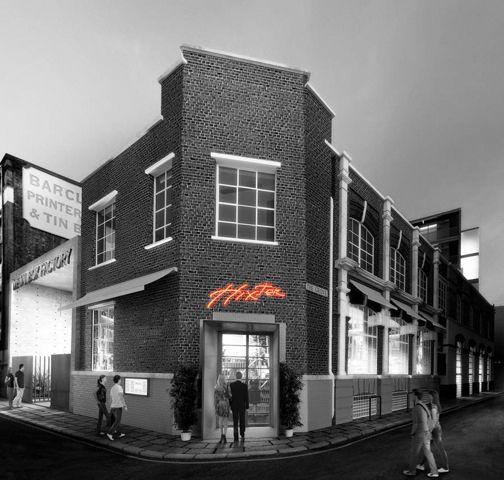 Hixter Bankside- Hixter. 9a Devonshire Square, London EC2M 4AE T