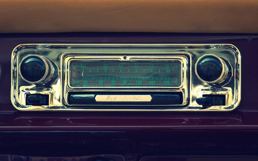 Pic of olden days car radio | Inspirations | Pinterest | Radios and ...