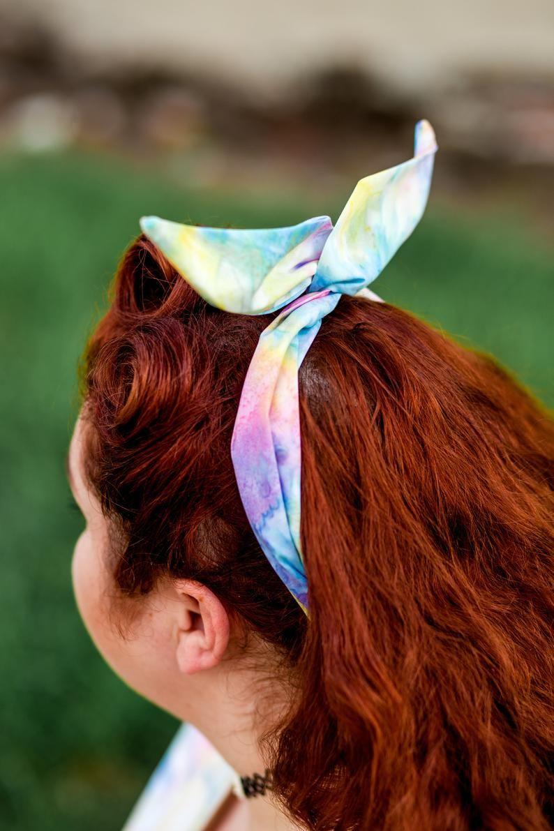 Unicorn Headband Bandana Hair Tie Band Headscarf Hairband Costume Dress Party