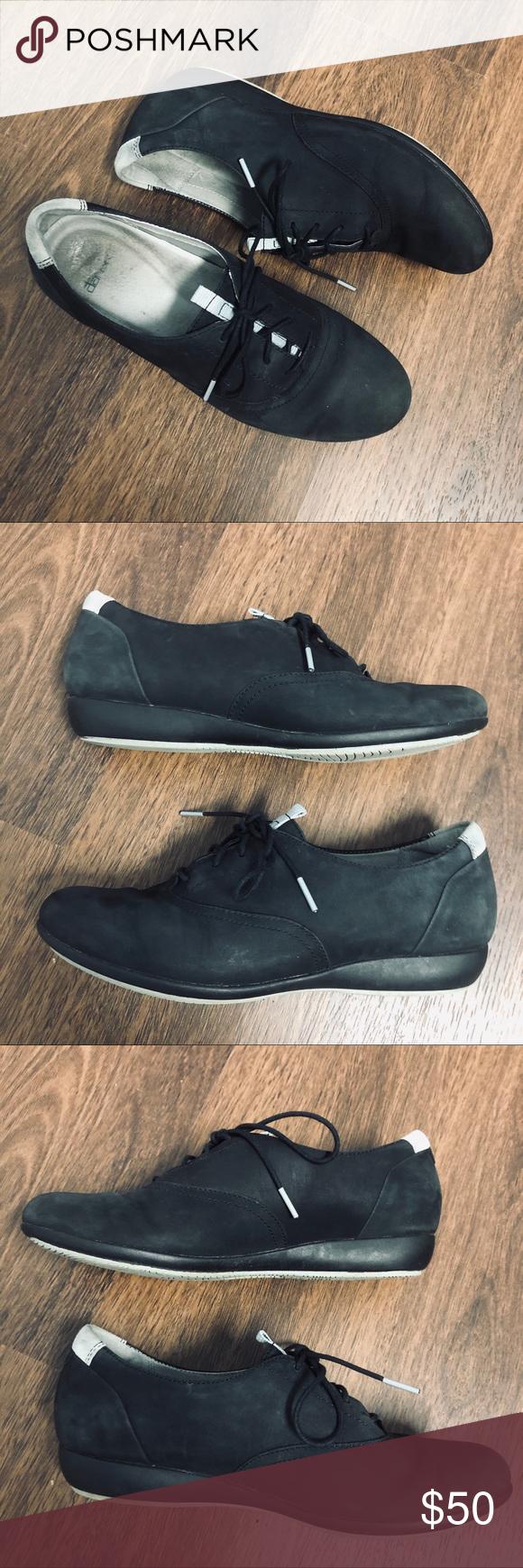 Dansko Nubuk Kimi Wedge Sneaker   Wedge