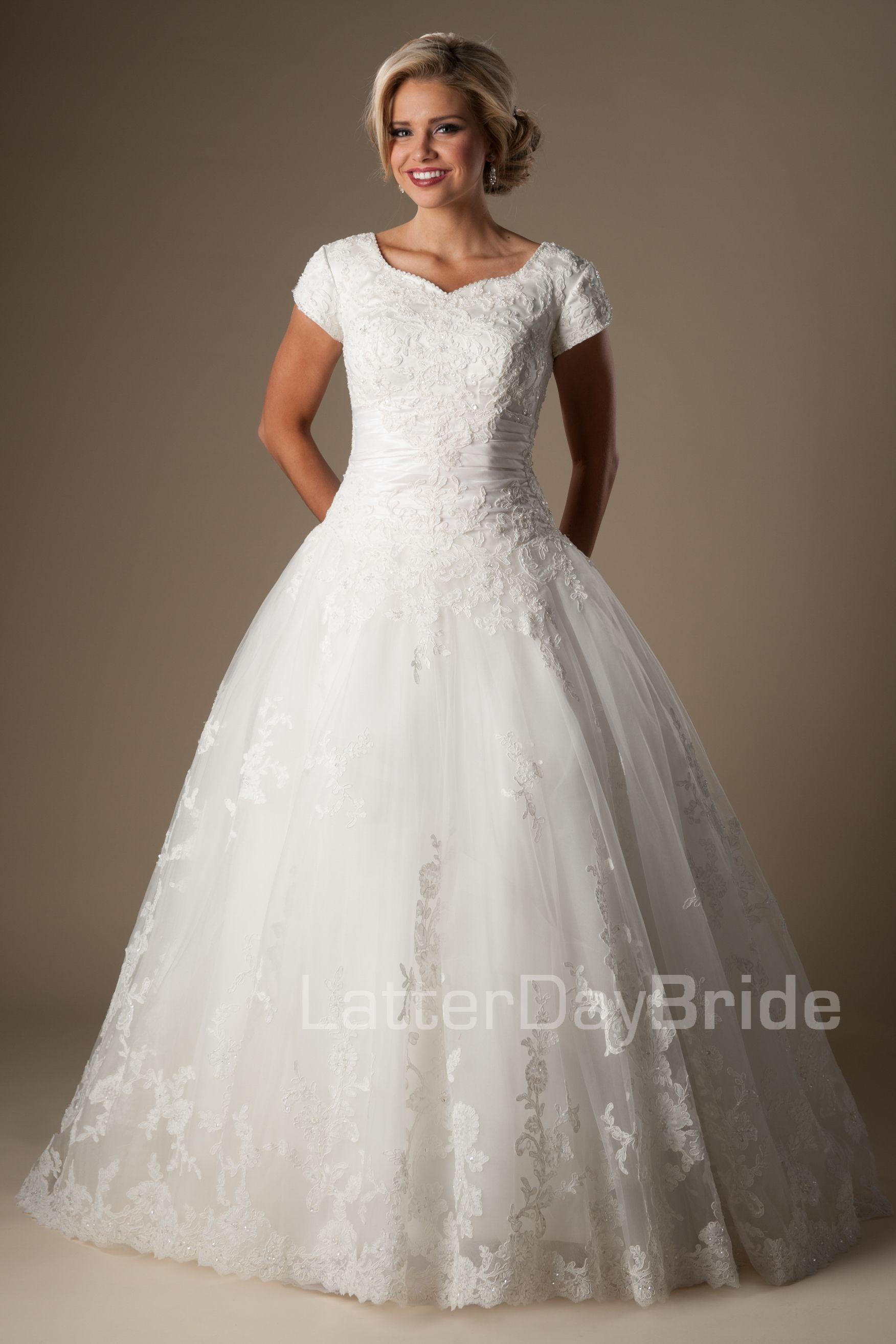 Augustina | Lds bride | Pinterest | Vestidos de novia, De novia y Novios
