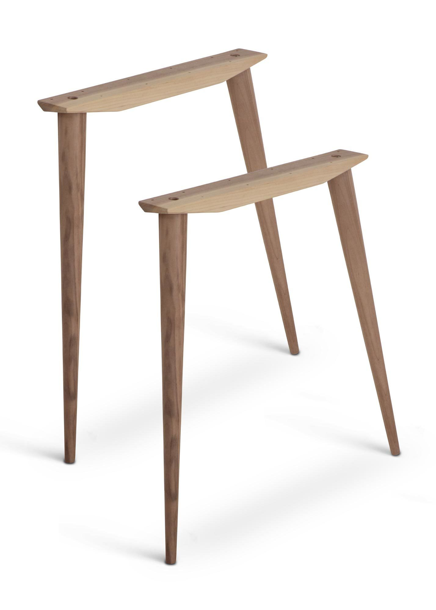 Mccobb Mid Century Modern Table Base Set 4 Legs 2 Angled Cleats