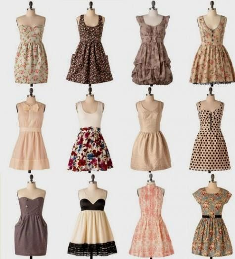 vintage dress tumblr 2016-2017 » B2B Fashion | Things to Wear ...