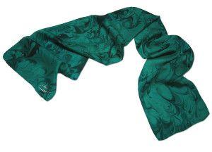 emerald_swirl [ ColorVibeDesigns.com ] #fashion #scarf #design