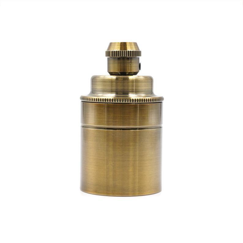 Matt Copper Lamp Holder E27 Diy Vintage Style Edison Light Socket Industrial Lighting Lighting Vintage Lamp In 2020 Light Accessories Copper Lamps Lamp Holder