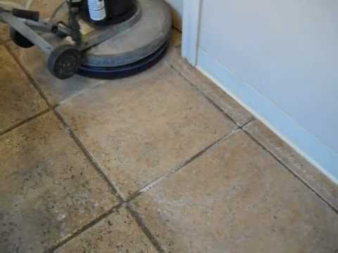 ▷ Floor Doctor acid wash on ceramic tile - YouTube   walk on me ...