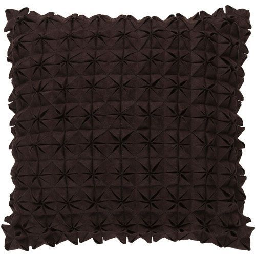 Structure Brown 22-Inch Pillow Cover