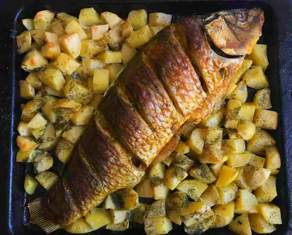 Рецепты приготовления сазана с фото
