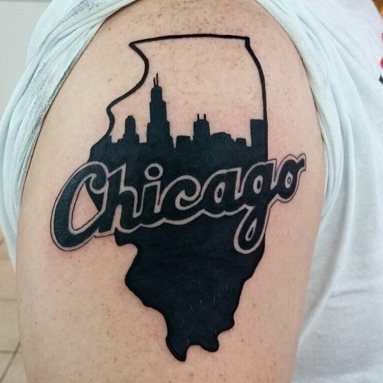 Chicago tattoo by localtattooartist donmeatball