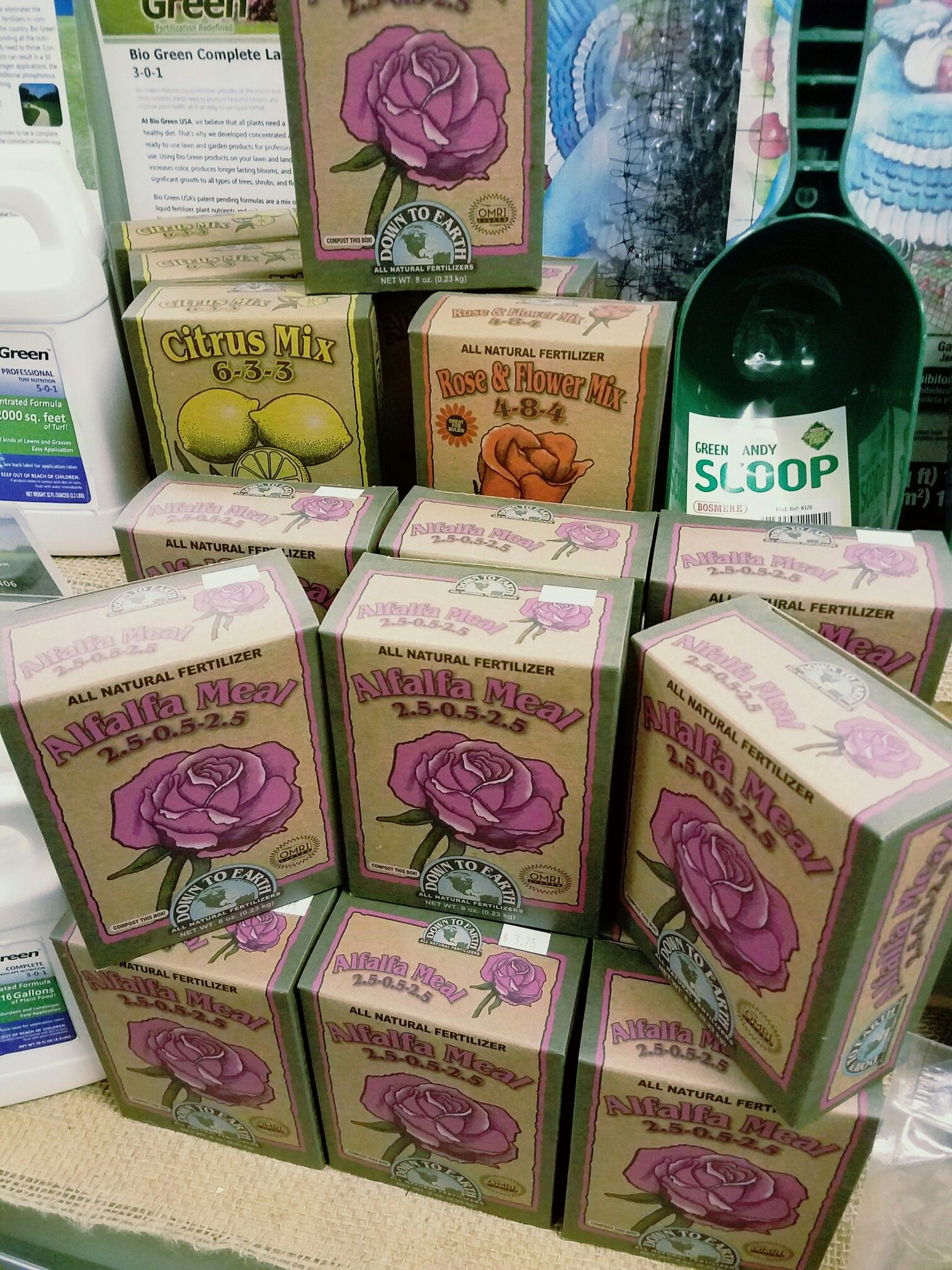 Alfalfa Meal for exceptional plant nutrients! | The Garden Shop ...