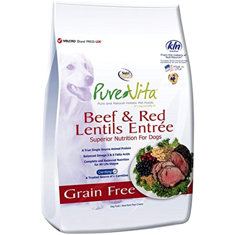 Nutri Source Pure Vita Grain Free Beef drydogfood Dog