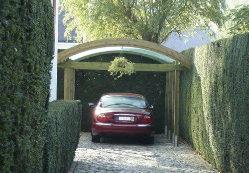 Curved Carport 36 X 611m Car Ports Door Canopy Car