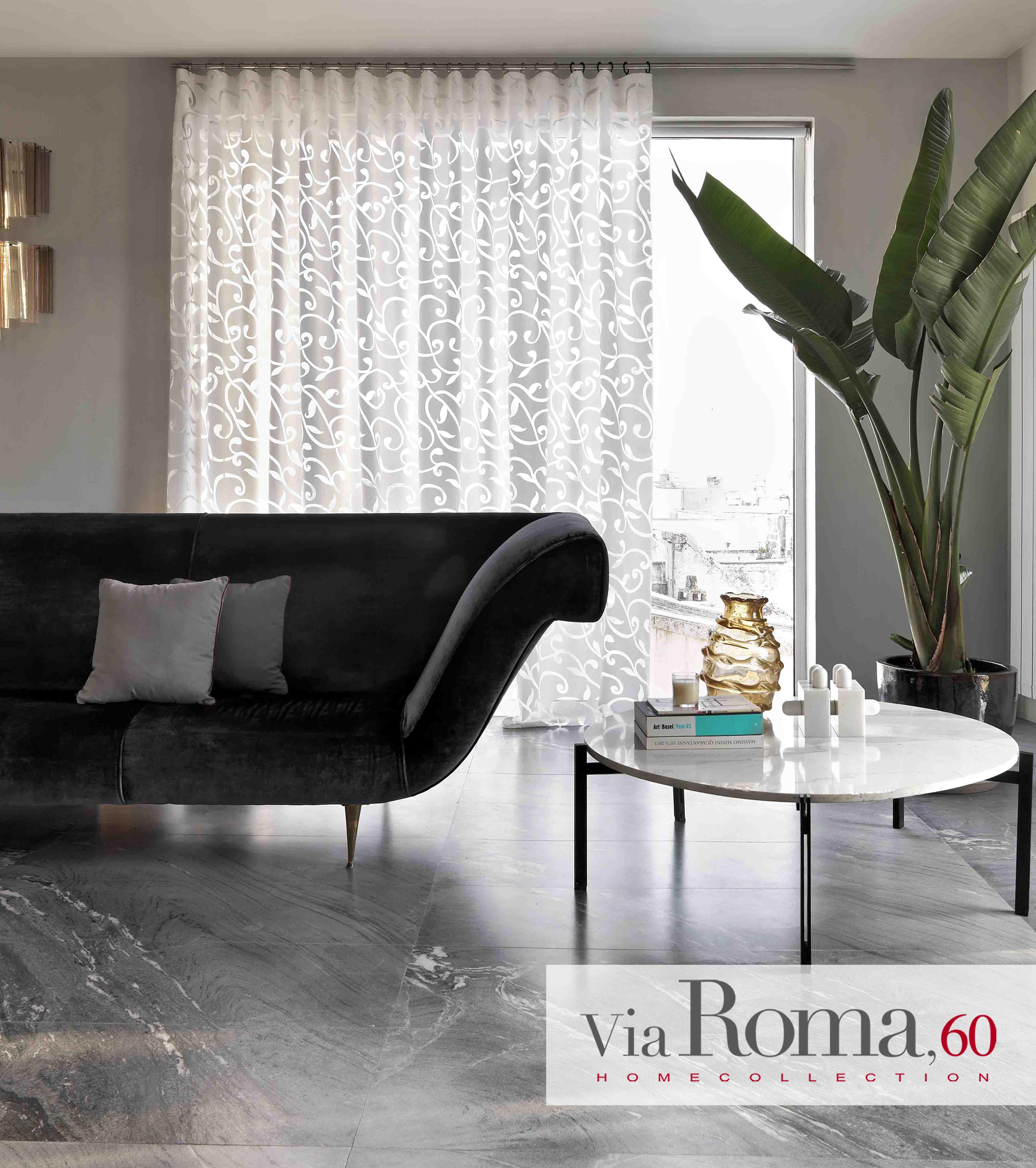Tende Moderne Per Interni Roma.Tessuto Tosca Arredamento Colori Vivaci Tendaggio