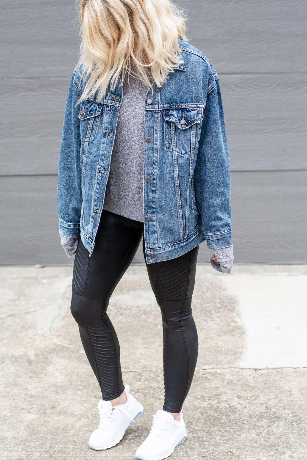 Teenagers Trendy Ideas Springteenfashion Oversized Jean Jacket Outfit Oversized Denim Jacket Outfit Oversized Jean Jacket [ 1547 x 1031 Pixel ]