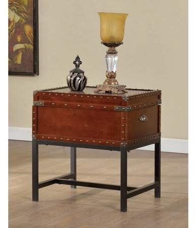 Home End Tables Trunk End Table Industrial Style Furniture