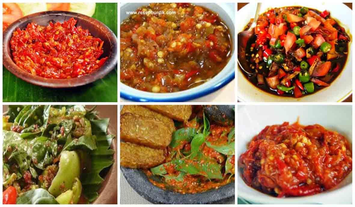 9 Aneka Resep Sambal Pilihan Pedas Untuk Ayam Dan Ikan Goreng Bakar