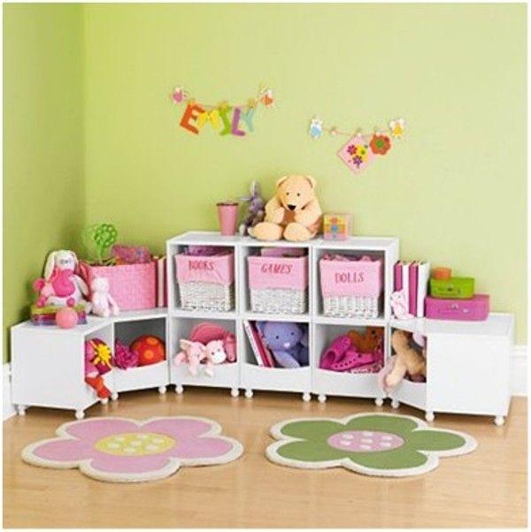 Cajones de almacenaje para los niños... me encantan!!! | Casa con ...
