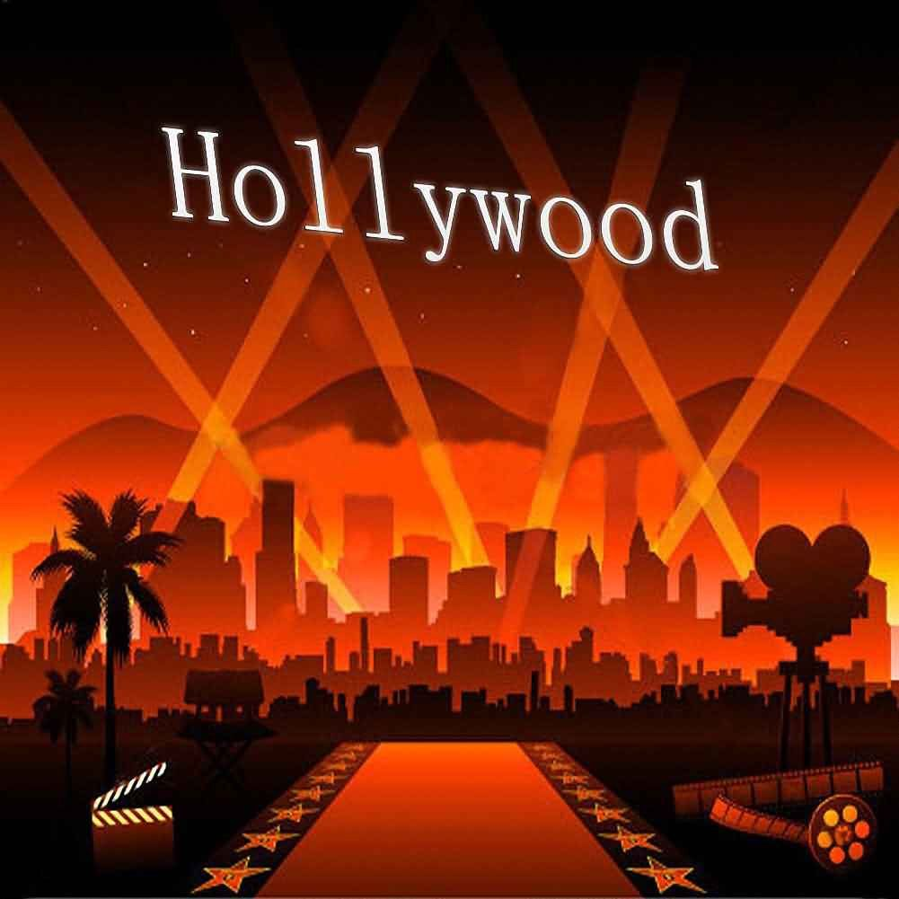 hollywood backdrop computer printed photography background digital