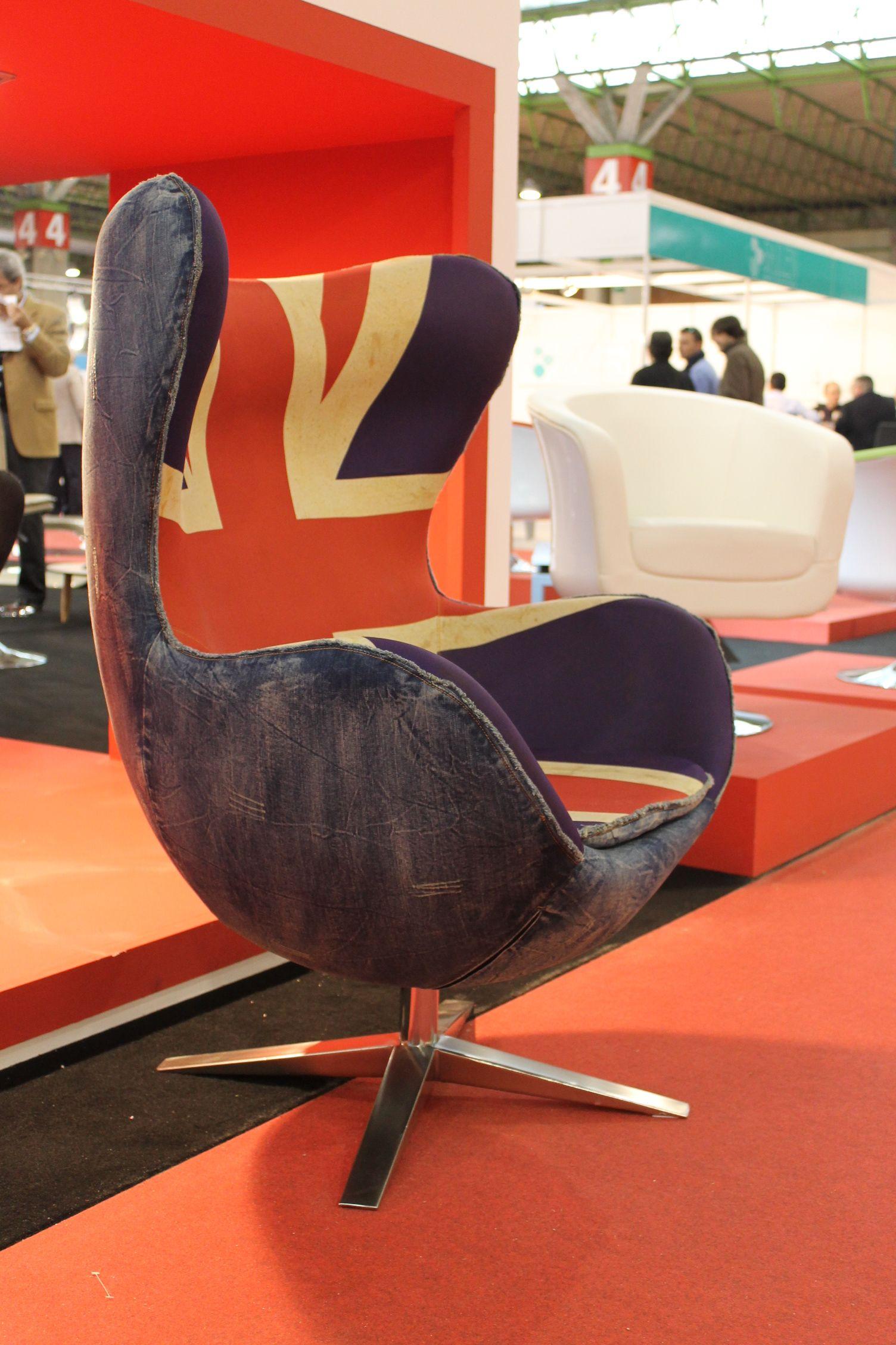 Sillon Egg Arne Jacobsen Feria Del Mueble De Zaragoza Ferias  # Muebles Rupema Najera