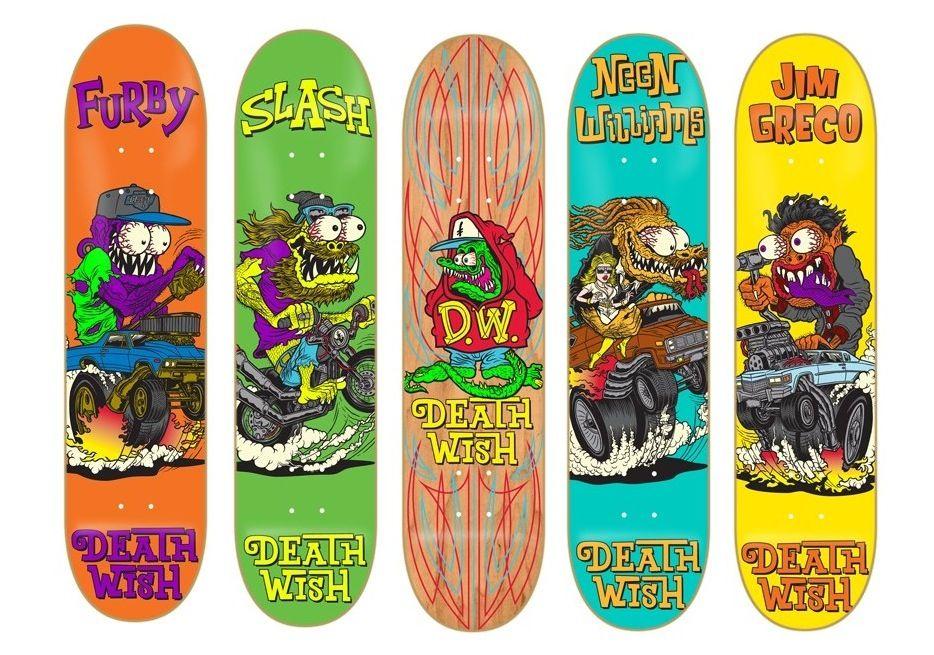 Deathwish Creeps Ii Skateboard Decks Deck Deathwish Skateboarding Sk8 Gordeszka Creep Horror Monster Styl Skateboard Design Skateboard Art Skateboard