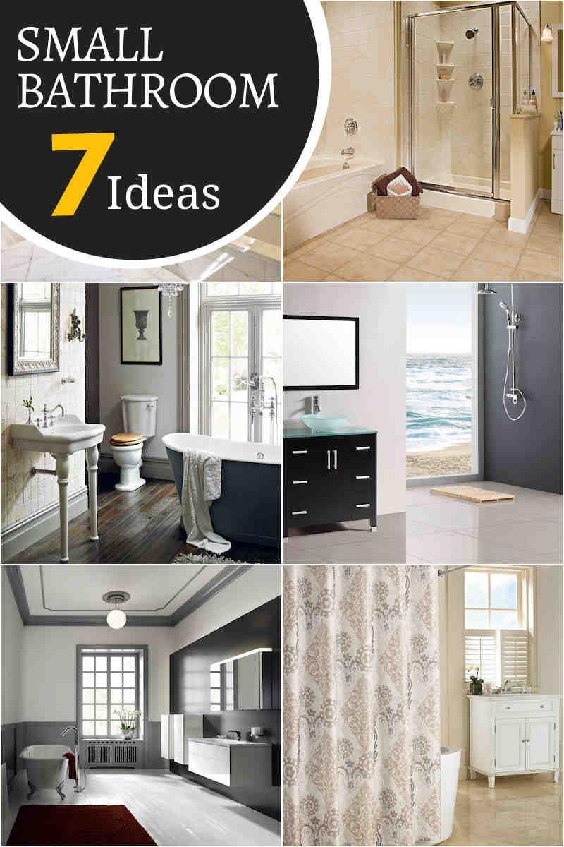 Create an empty and bright feel inside your bathroom add light by utilizing a window