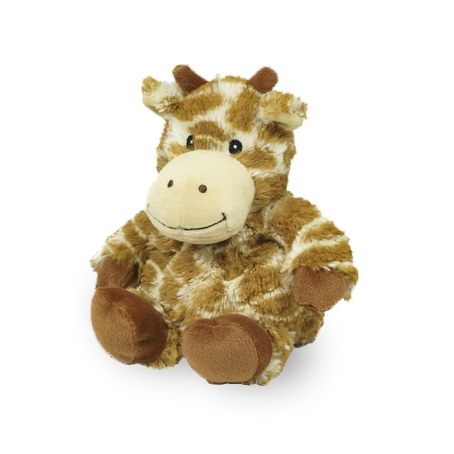 "Warmies® 9"" Junior Giraffe Teddy bear stuffed animal"