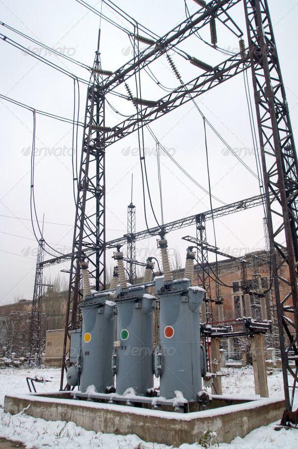 Electric Power Substation Volts, alternating, amperage