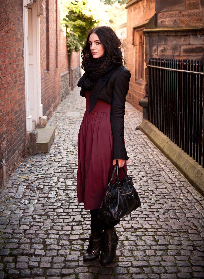 Stephanie of FAIIINT / 'Oxblood'
