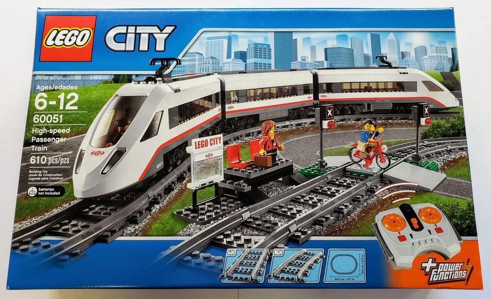 Lego 60051 City High Speed Passenger Train