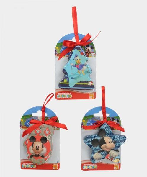 Set 3 decorazioni Sagomate Mickey & Friends - TocTocShop.com - Fantastico per i Bambini, Imbattibile nei Prezzi