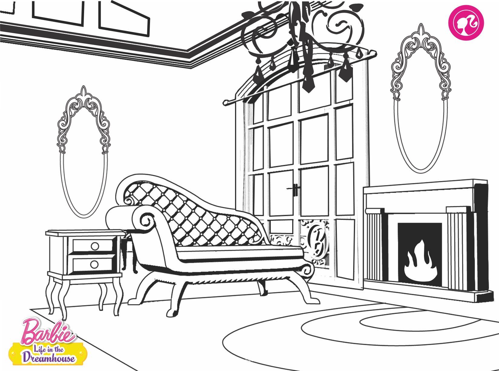Desenhos Para Colorir Da Barbie - Dreamhouse-life