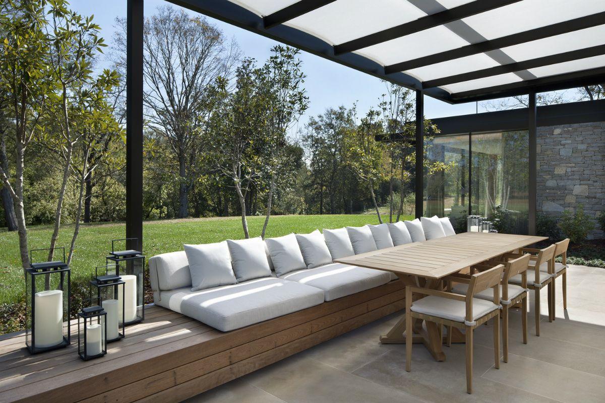 Casa En La Pradera Terrazas Techadas Modernas Muebles