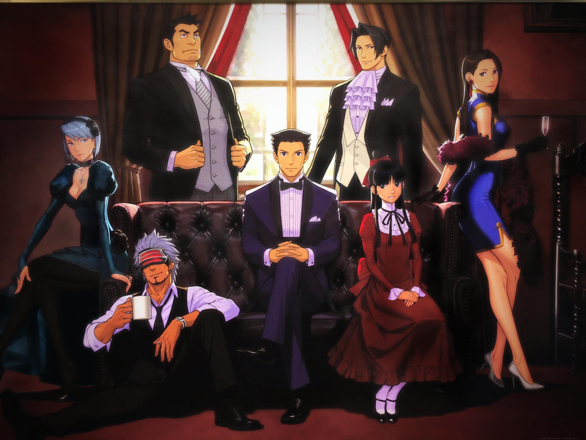 Imgur Com Phoenix Wright Anime Ace