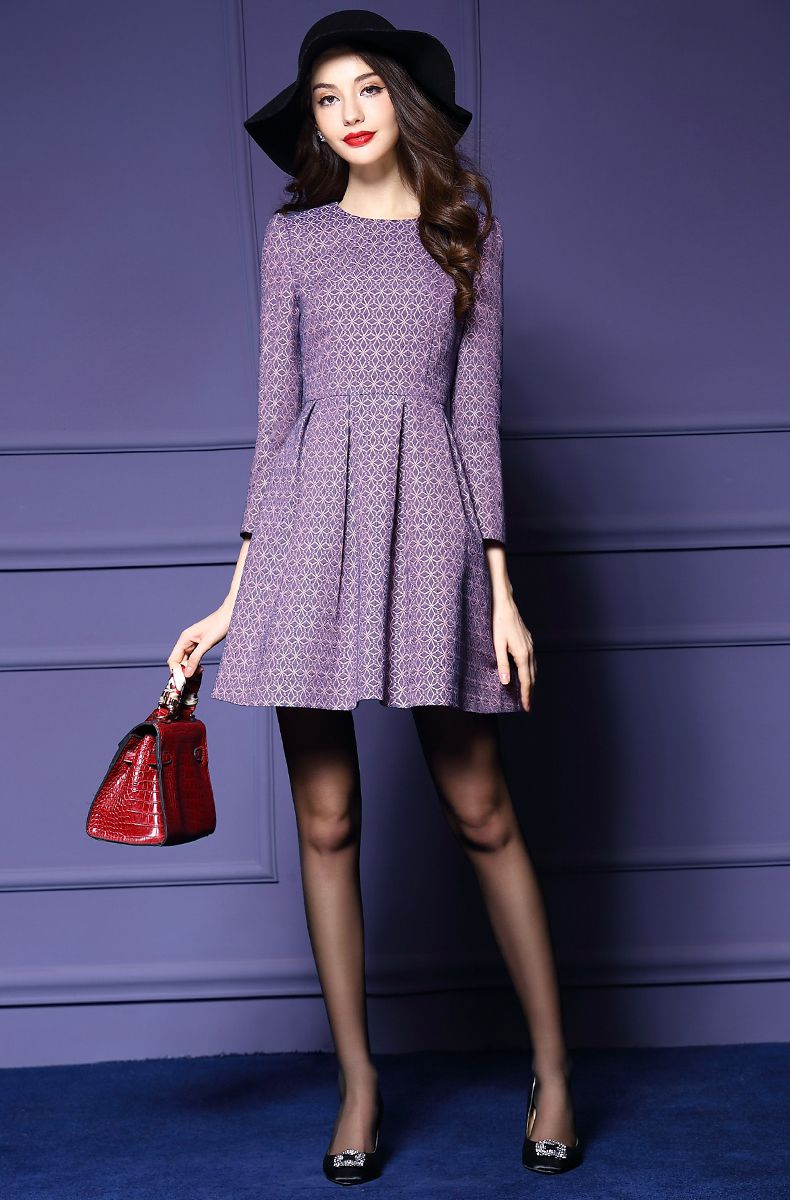 A purple dress! It couldn't get any better than this. Best Prices from Top China Brands Online @cincaibuy Malaysia | cincaibuy.com - Online Shopping Malaysia for Dress, Clothes, Shoes, Bags & more