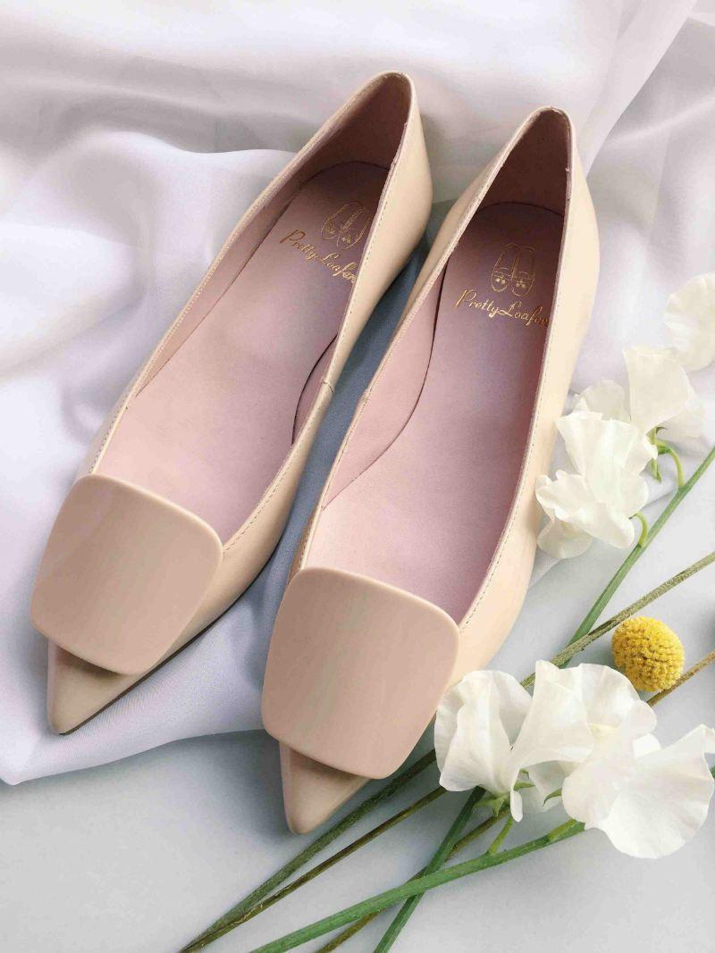 Hubsche Ballerinas Schuh  Clutch Braut Kollektion  BRAUT