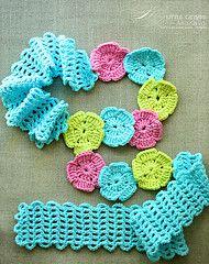 Ravelry: Garden Trellis Scarf Headband pattern by Alla Koval