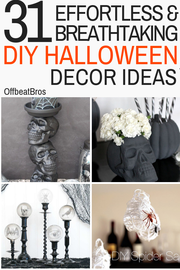 31 Awesome DIY Halloween Decorations Ideas